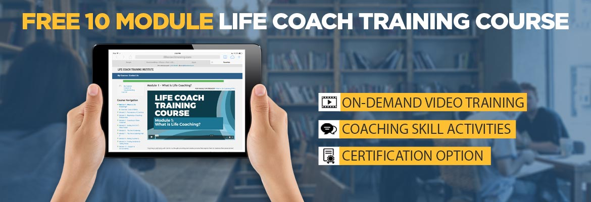 free life coach certification online life coach training institute