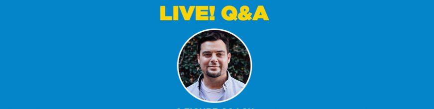 (2.11.19) Mentor Monday: Live! Q&A