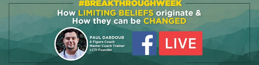 (5.15.19) #BREAKTHROUGHWEEK DAY TWO Replay: How LIMITING BELIEFS originate & How they can be CHANGED