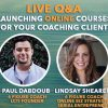 (6.8.20) #MENTORMONDAY Replay: Q&A – Launching ONLINE Courses for your Coaching Clients